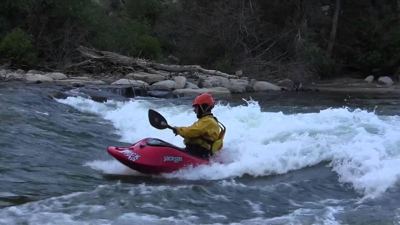 Buena Vista Whitewater Park Kayaker