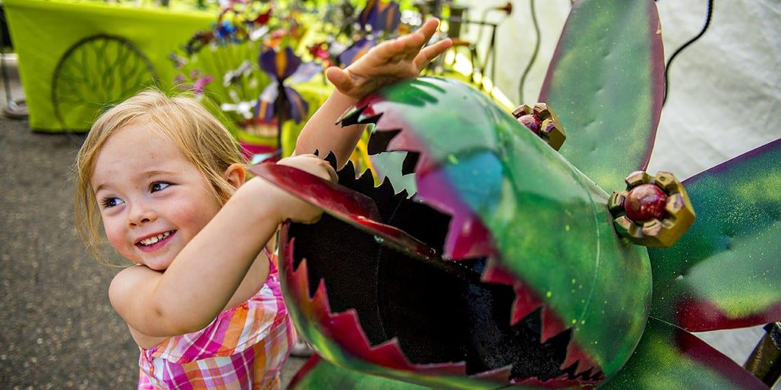 Cheesman Park Art Fest Denver CO Child Art Sculpture