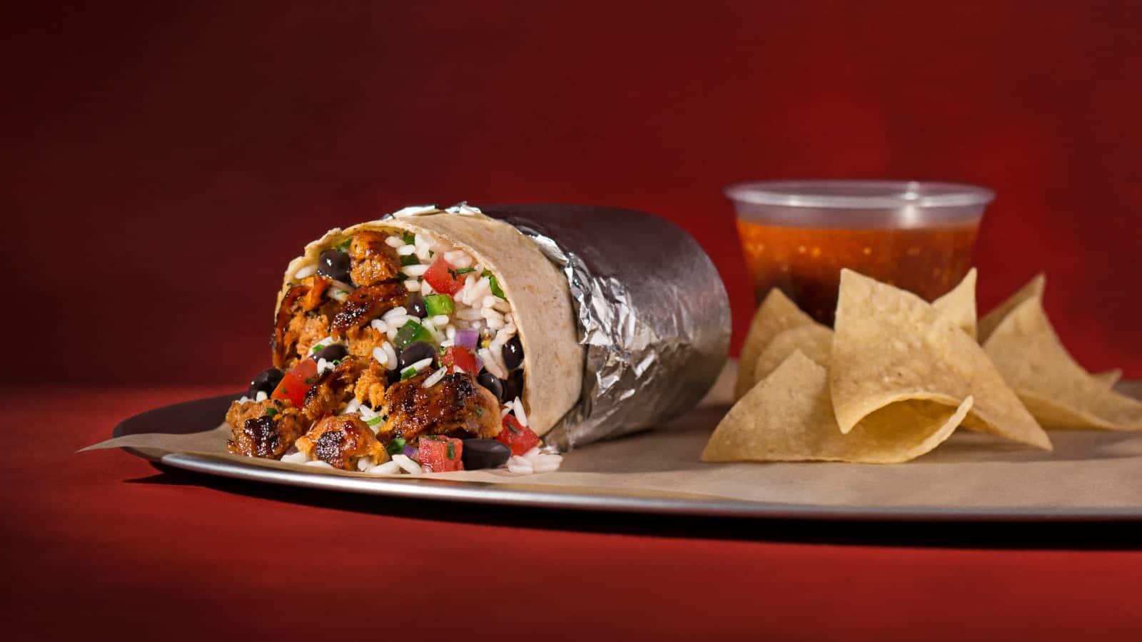 Chipotle Mexican Grill Chorizo Burrito