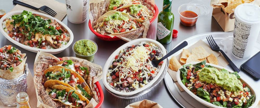 Chipotle Mexican Grill Menu Dishes
