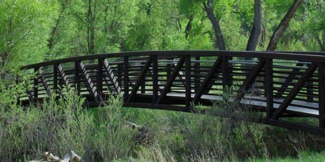Clear Creek Trail Wheat Ridge Greenbelt Prospect Park Bridge