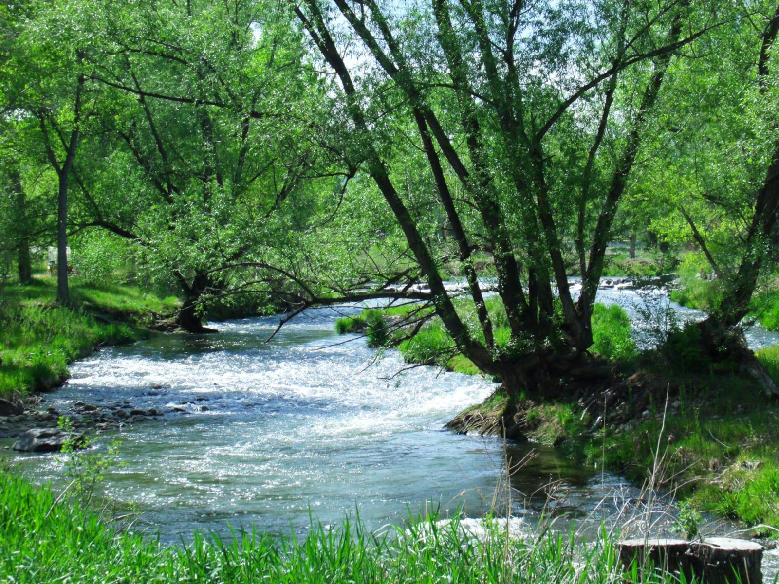 Clear Creek Trail Wheat Ridge Greenbelt Prospect Park River