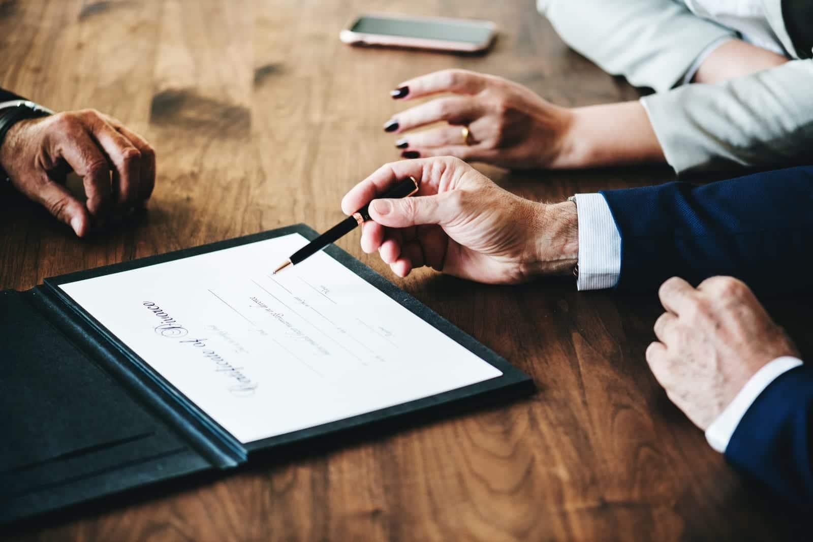 Colorado Divorce Attorneys Certificate of Divorce Signing