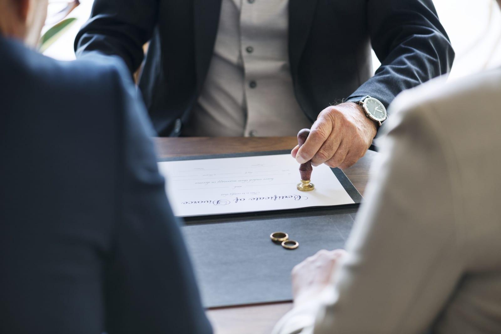 Colorado Divorce Attorneys Divorce Certificate Stamp