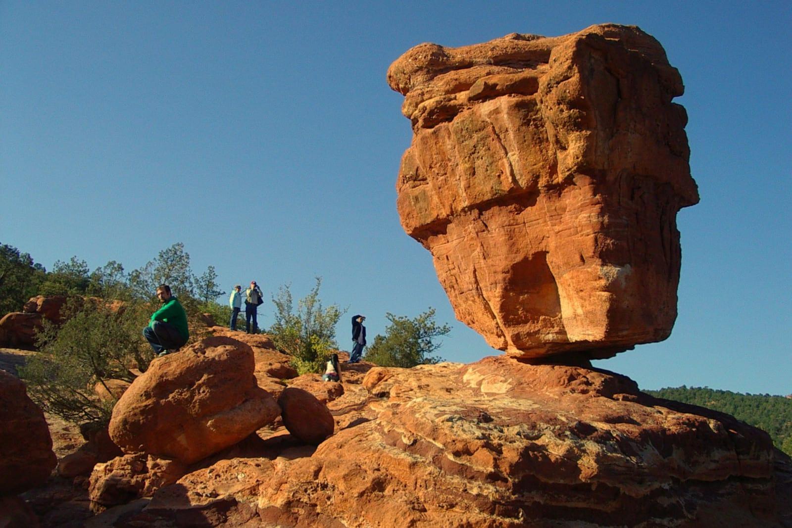 Colorado Educational Field Trip Garden of the Gods Balanced Rock