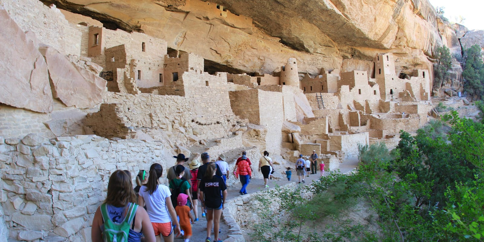 Colorado Educational Field Trip Mesa Verde Cliff Palace Guided Tour