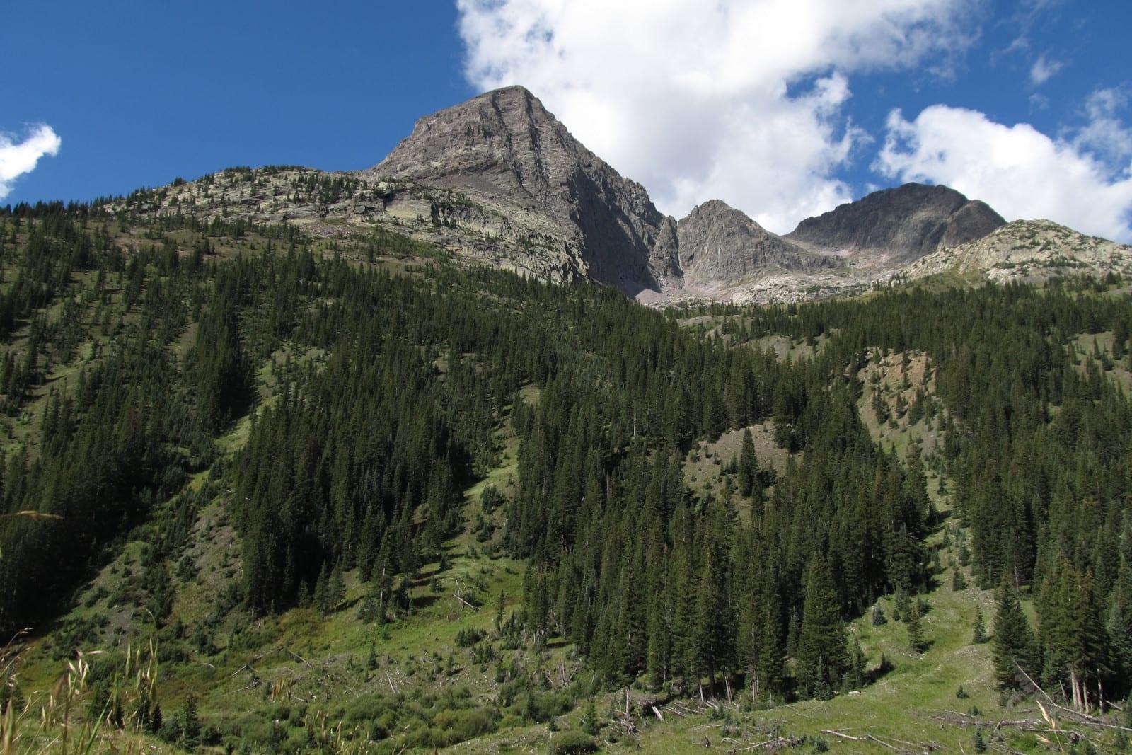 Colorado National Wilderness Areas Weminuche Grenadier Range