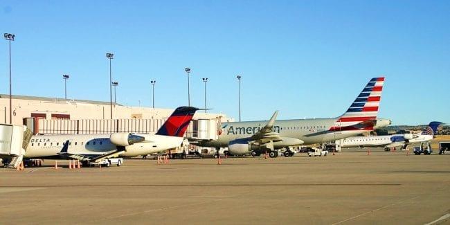 Colorado Springs Airport Peterson Field Airplanes Ramp