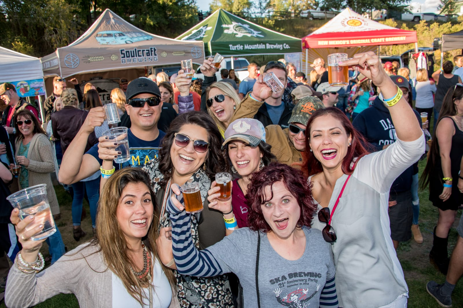 Colorfest Balloon Rally Bands and Brews Festival Pagosa Springs Guests