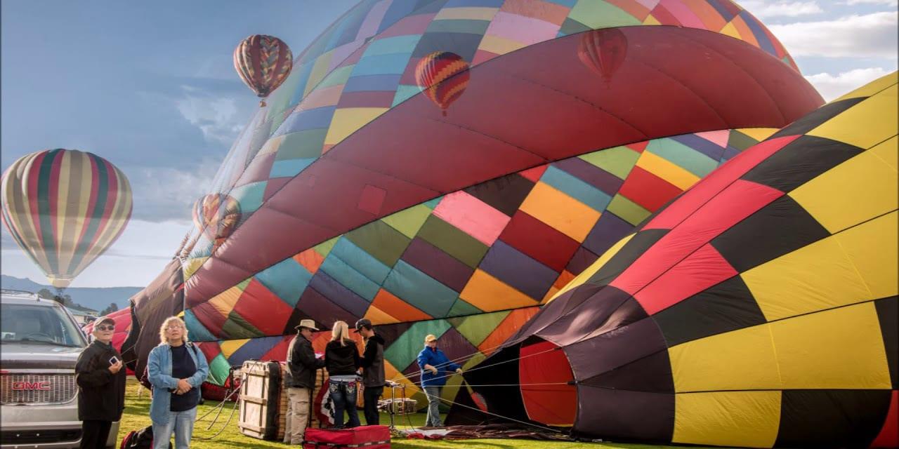 Colorfest Balloon Rally Pagosa Springs Colorado
