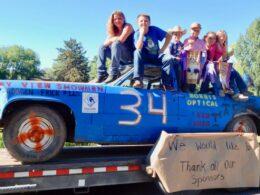 Delta County Fair Colorado Demolition Derby Car