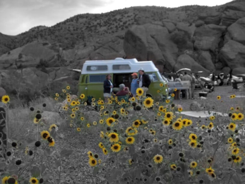 RV Rentals Denver Red Rocks VW Camper Van