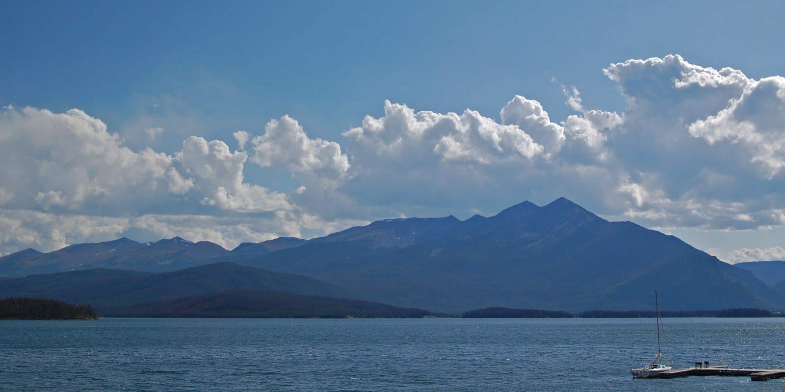 Dillon Marina Dillon Reservoir Colorado