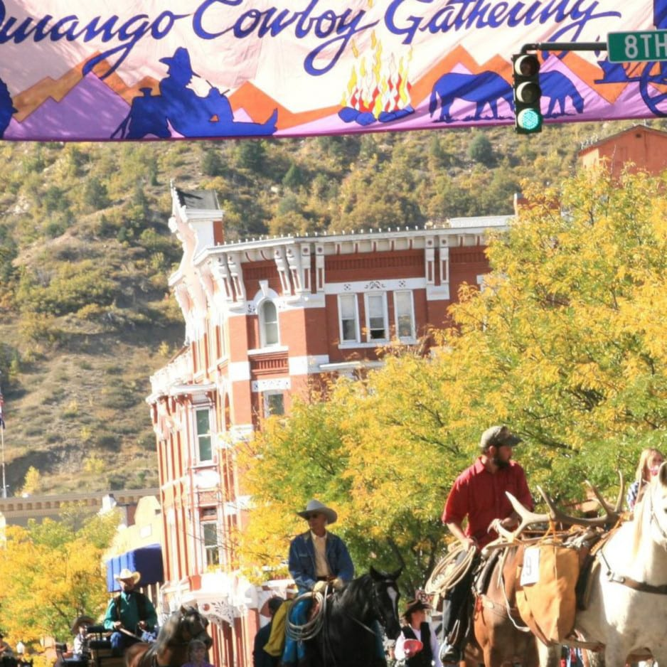Durango Cowboy Poetry Gathering Parade Colorado