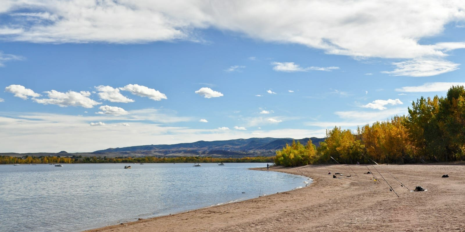 Fishing Around Denver Chatfield Reservoir Shore Fishing Rods