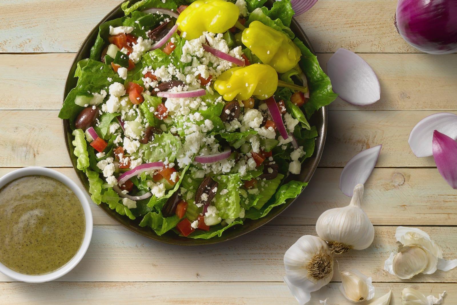 Garbanzo Restaurant Colorado Salad