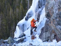 Golden Mountain Guides Ice Climbing