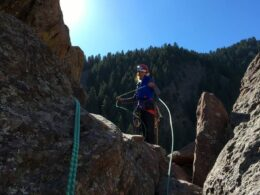 Golden Mountain Guides Rock Climbing Eldorado Canyon State Park