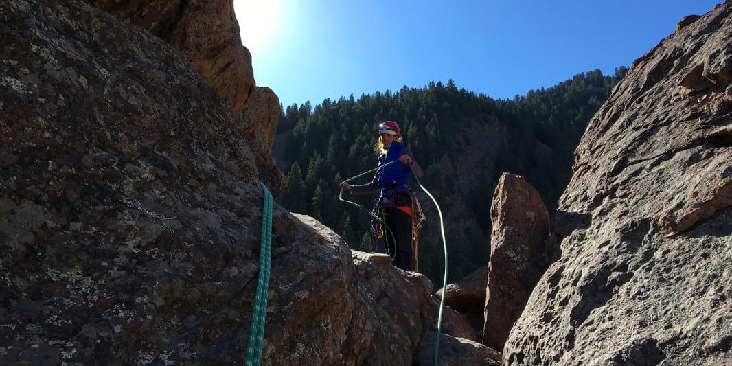 Golden Mountain Guides Rock Climbing Eldorado Canyon State Park