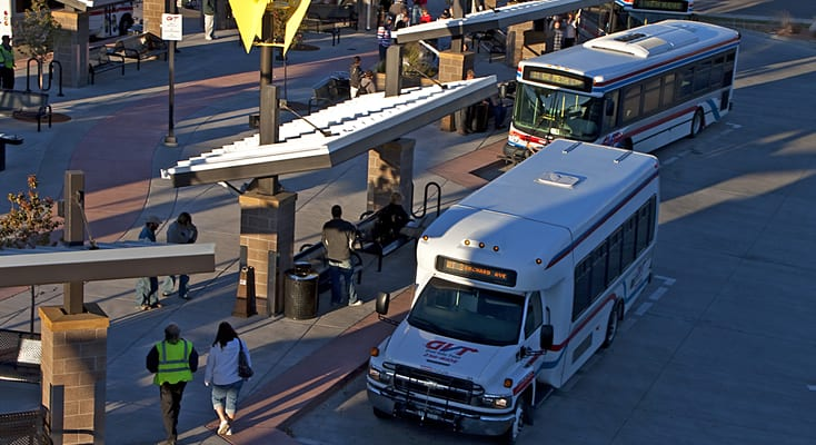 Grand Valley Transit Grand Junction Shuttle Bus