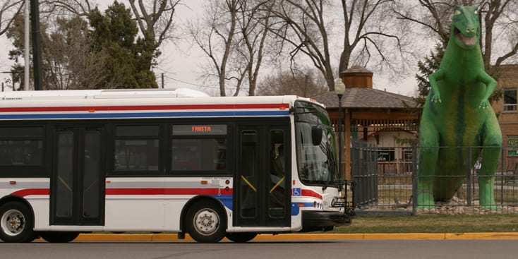 Grand Valley Transit Grand Junction Bus