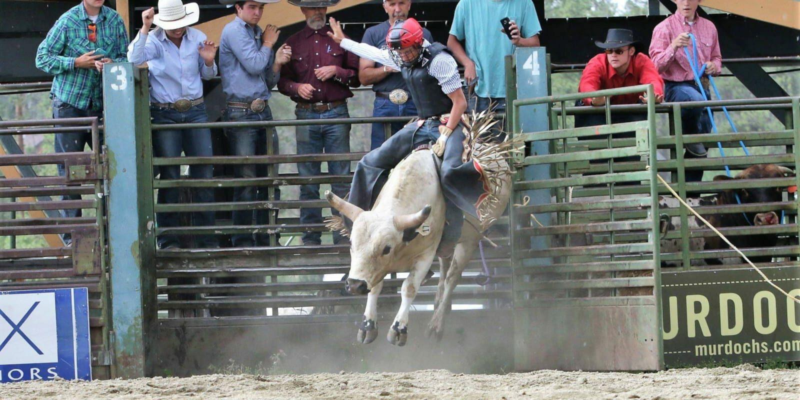 High Country Stampede Rodeo Fraser Colorado Cowboy