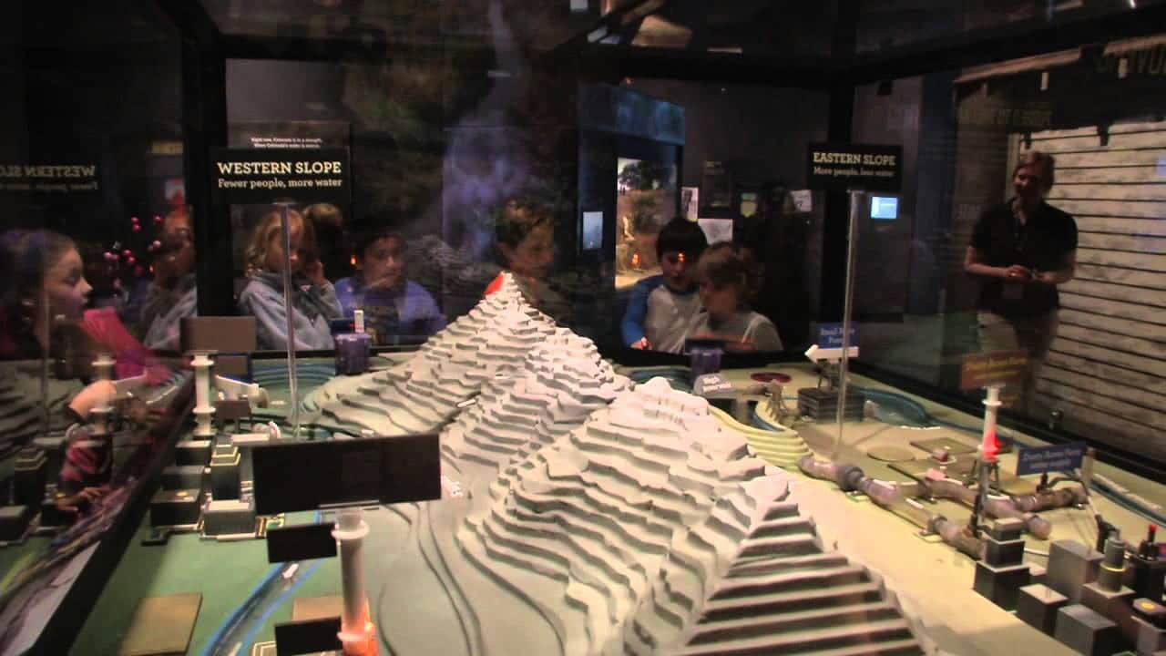 History Colorado Center Living West Exhibit