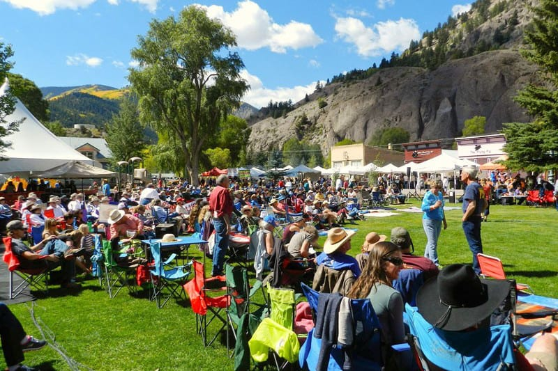Lake City Uncorked Wine and Music Festival Crowd Colorado
