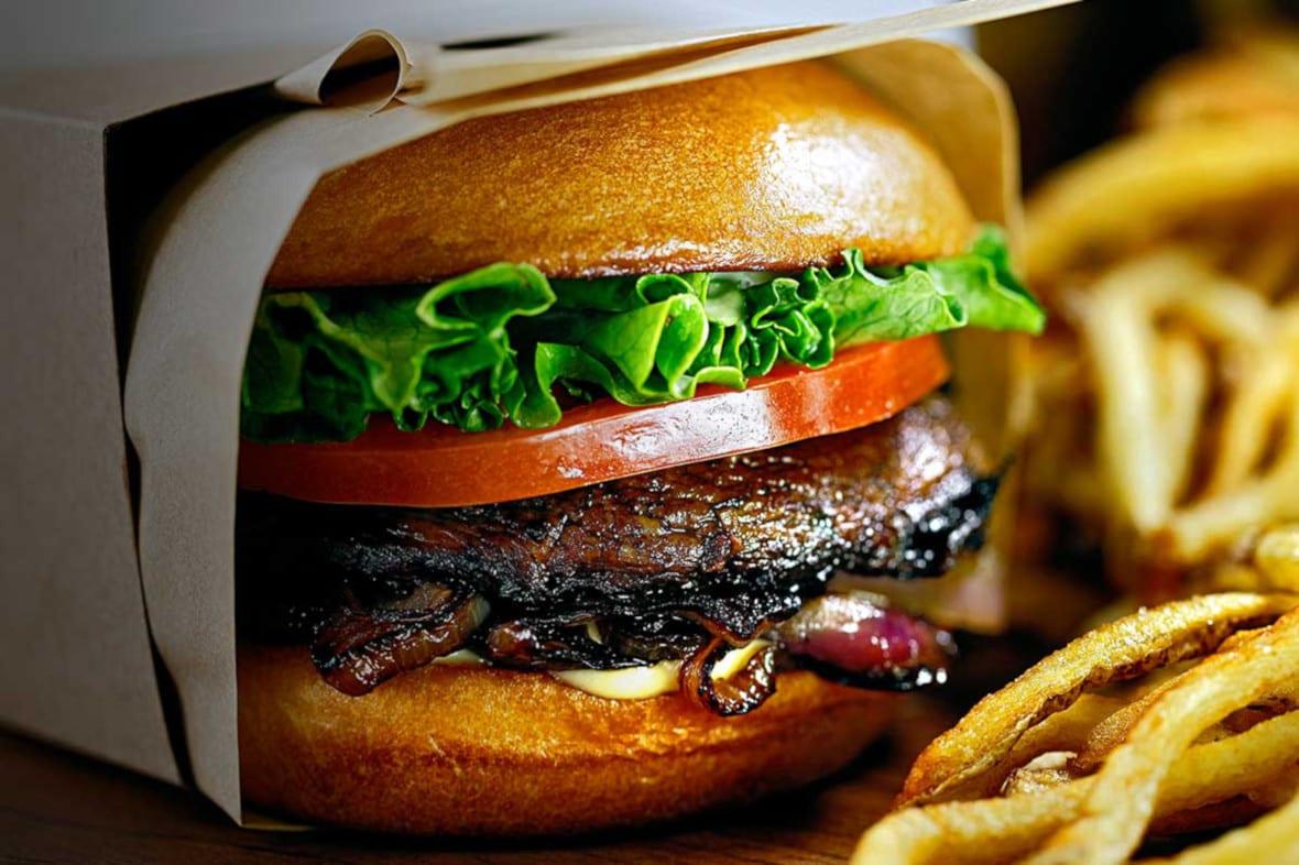 Larkburger Menu Amy Burger