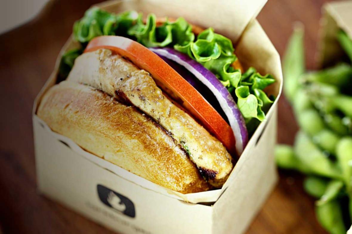 Larkburger Menu Tuna Burger