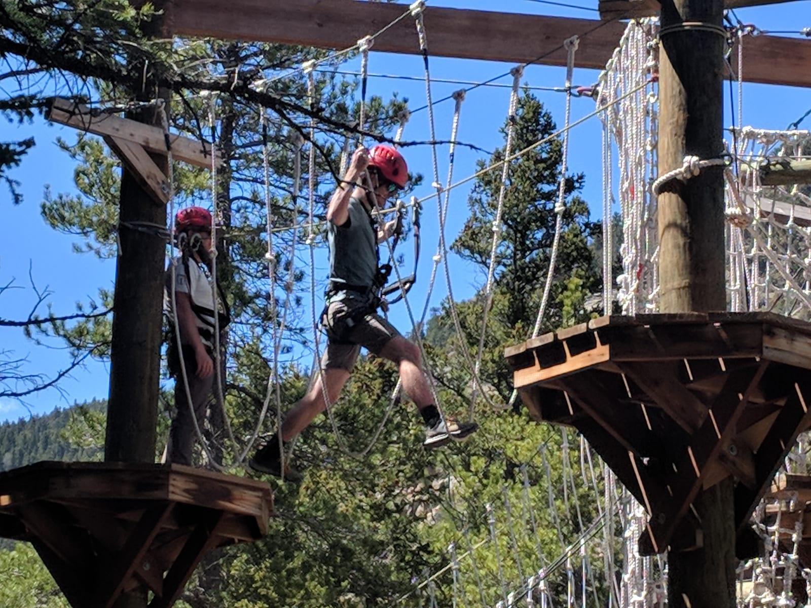 Lawson Adventure Park Resort Aerial Course