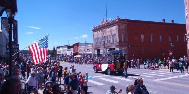 Leadville Boom Days Parade Colorado