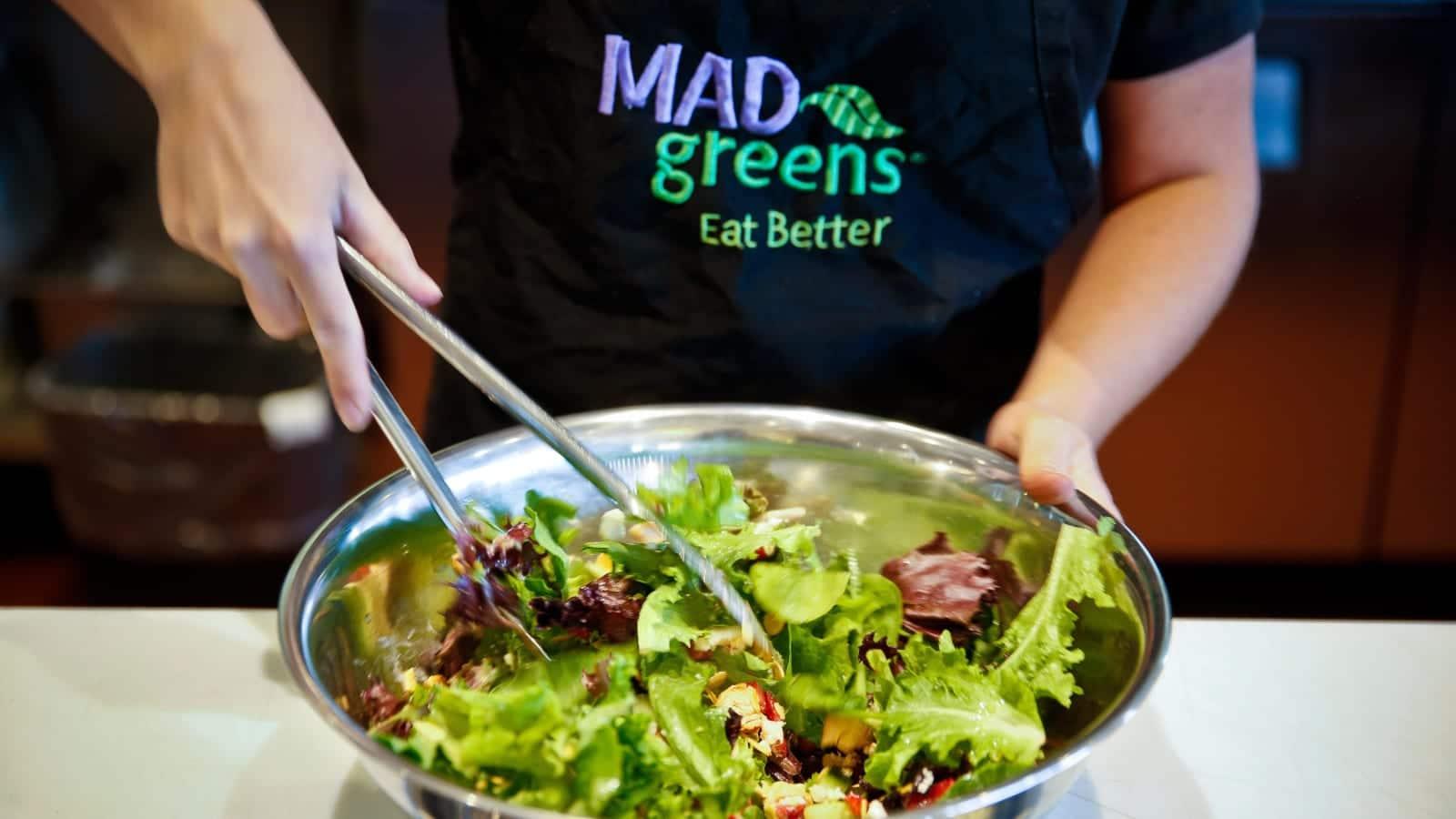 Mad Greens Salad Mixing Bowl
