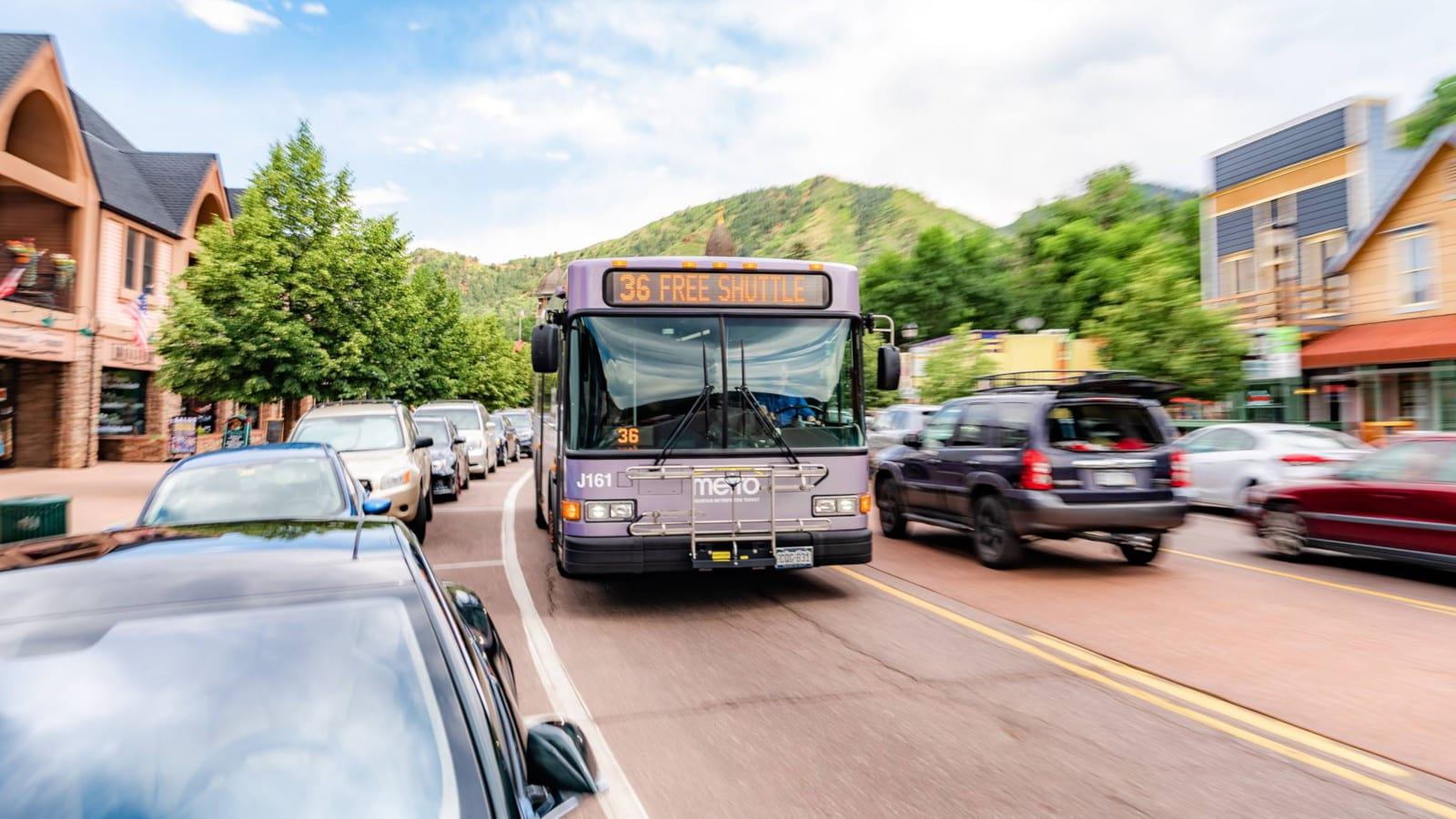 Mountain Metropolitan Transit Colorado Springs Free Shuttle Bus