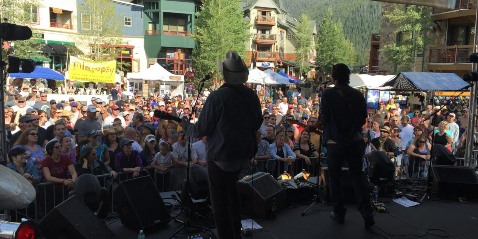 Mountain Town Music Festival Keystone Concert Stage