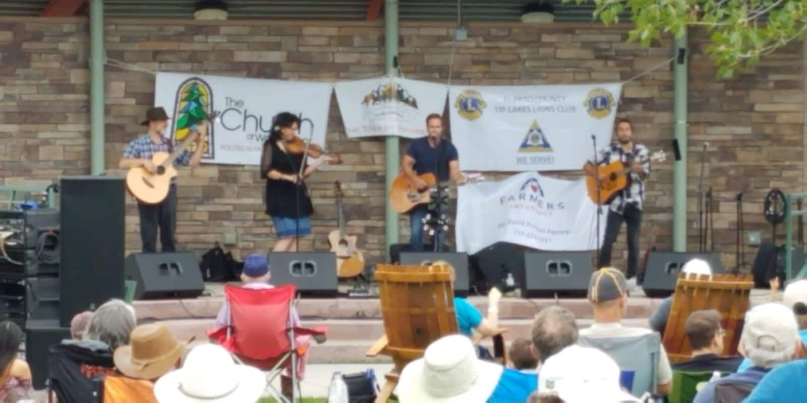 Pickin' On The Divide Bluegrass Festival Monument Colorado