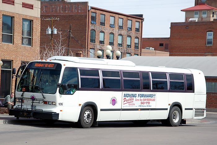 Pueblo Transit Colorado Bus