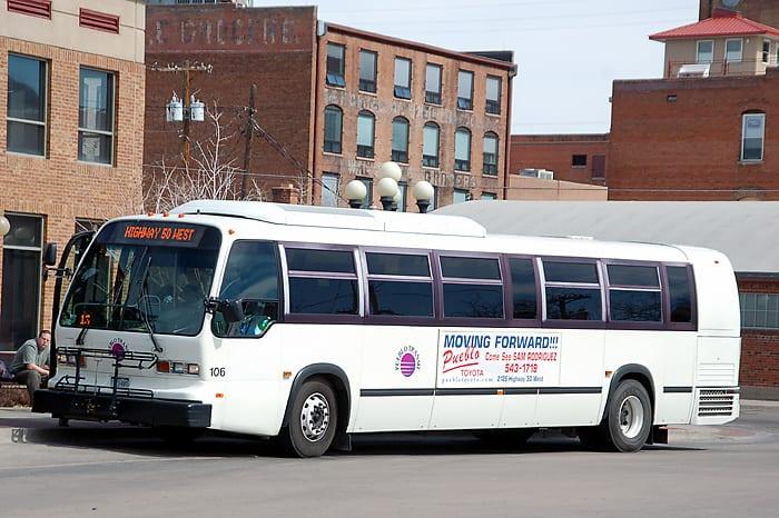 Pueblo Transit Colorado Bus