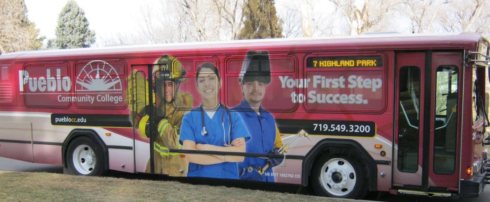 Pueblo Transit Colorado Bus Advertising