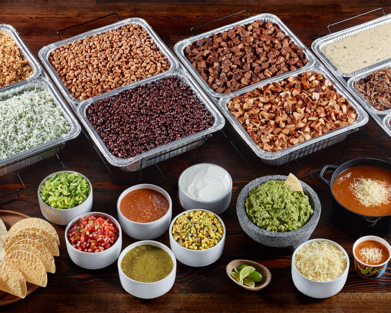 Qdoba Mexican Grill Catering Menu