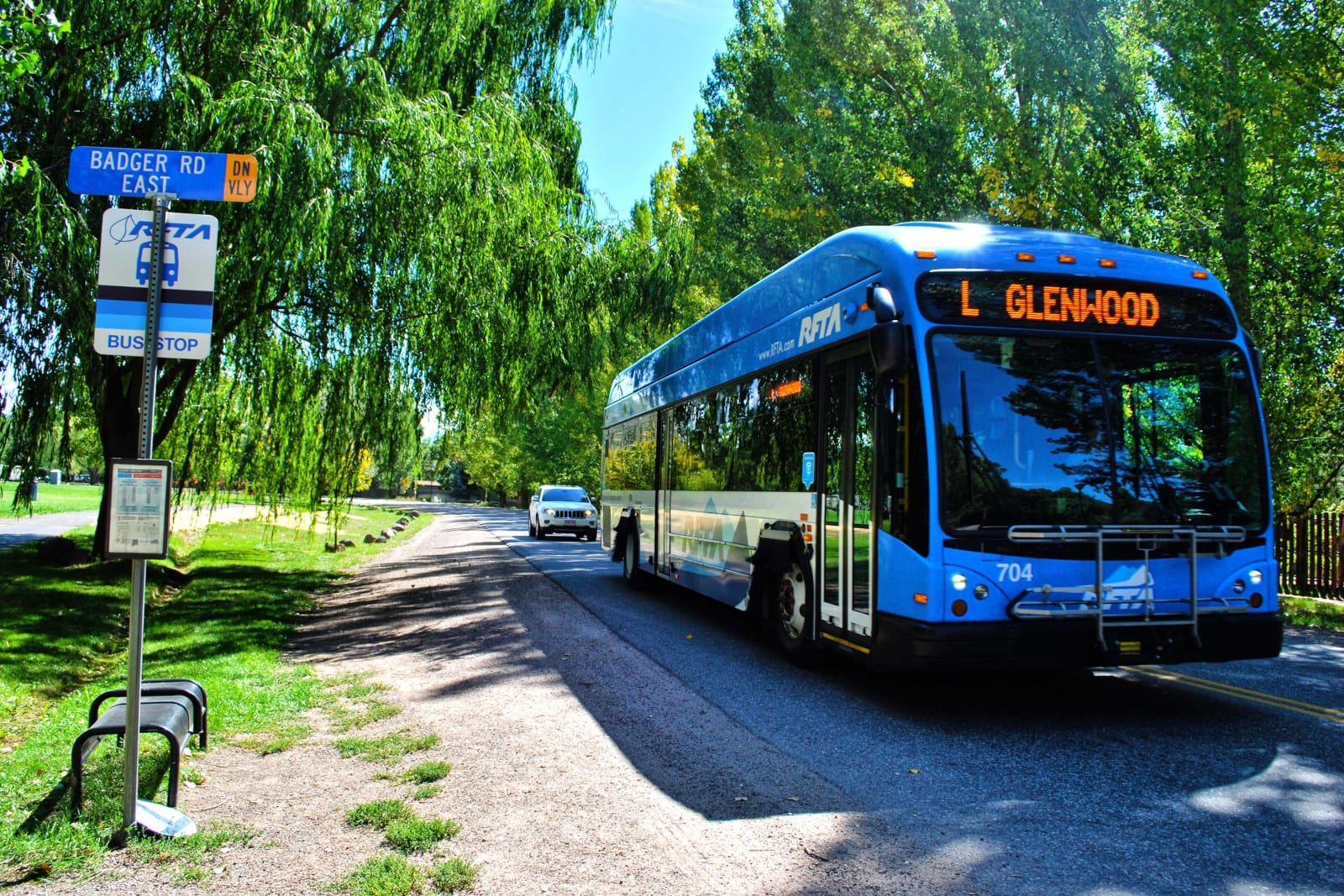 RFTA Roaring Fork Transportation Authority Bus Glenwood Springs