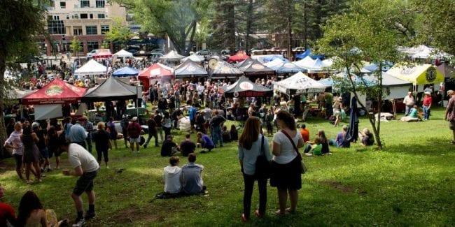 San Juan Brewfest Durango Beer Tents
