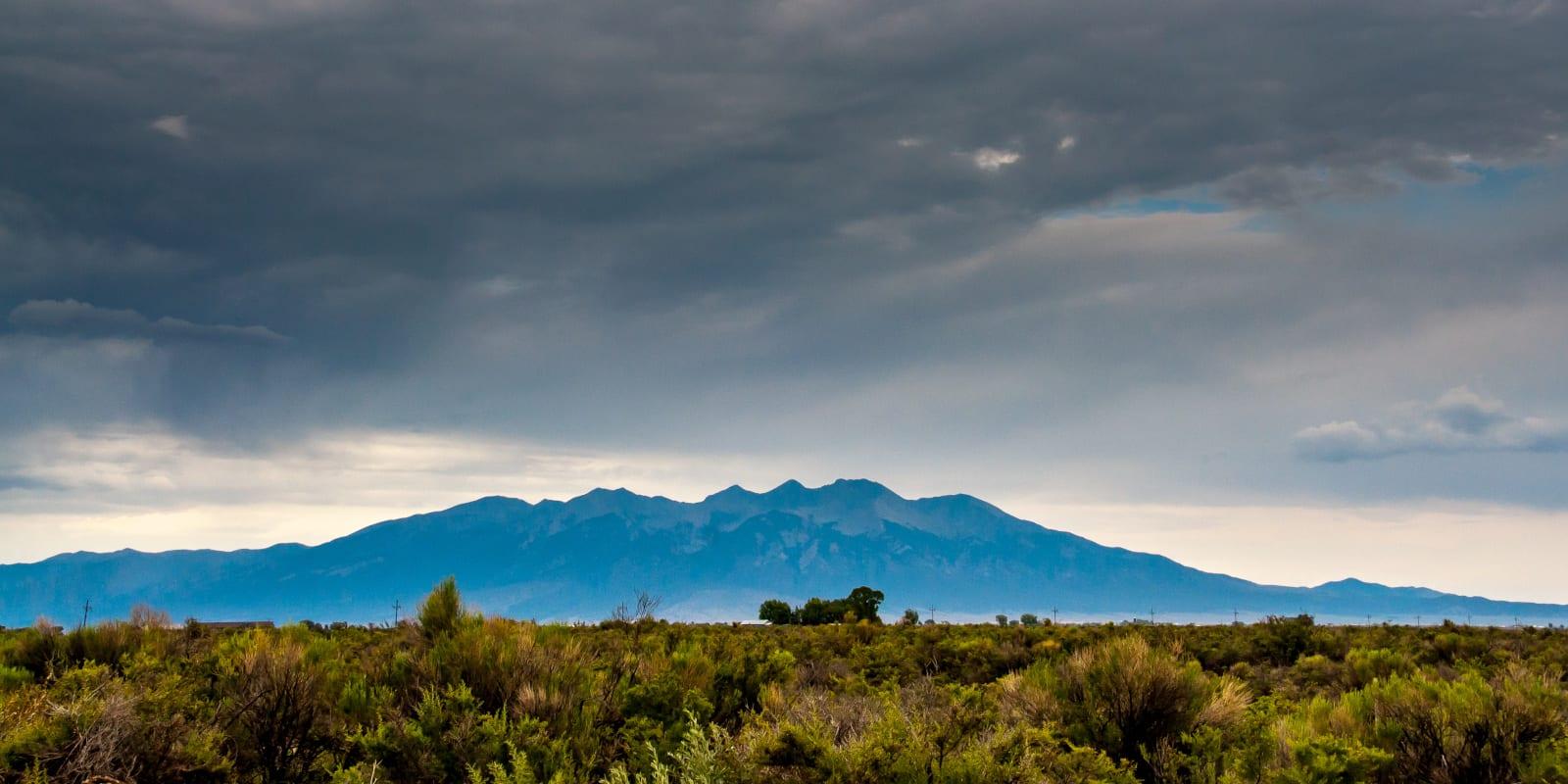 San Luis Valley Sangre De Cristo Mountains Alamosa National Wildlife Refuge