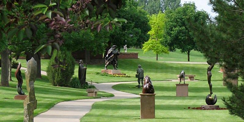 Sculpture In The Park Loveland Colorado