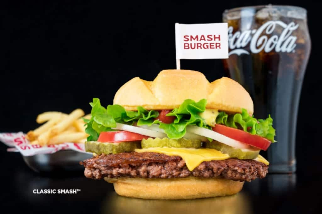 Smashburger Classic Smash Cheeseburger