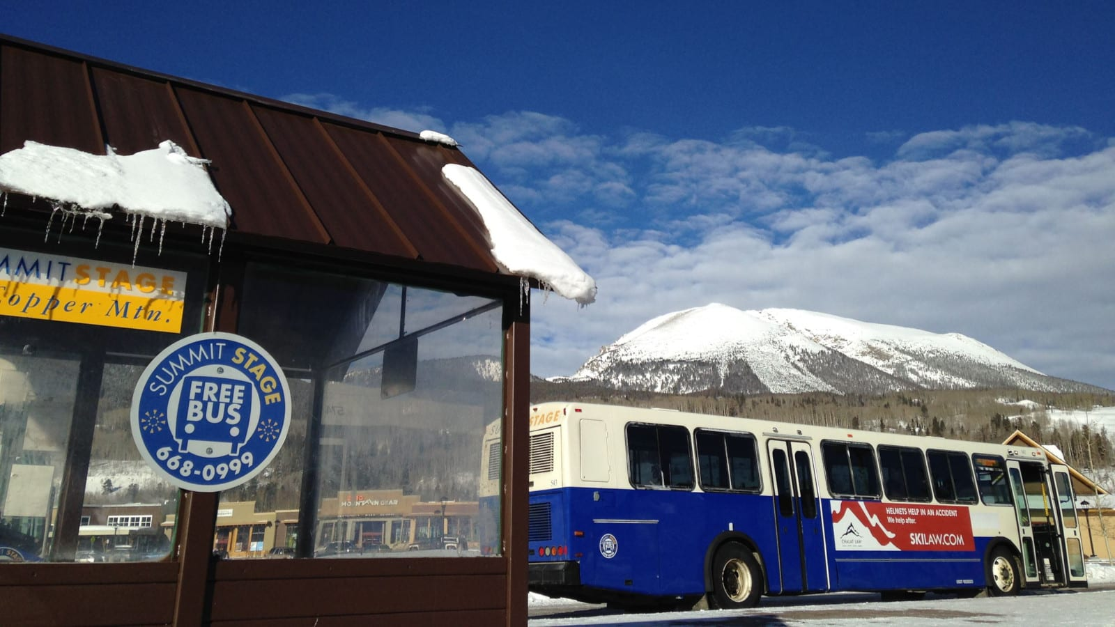 Summit Stage Bus Copper Mountain