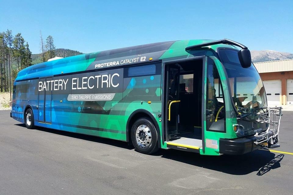 Summit Stage BaBattery Electric Proterra Bus