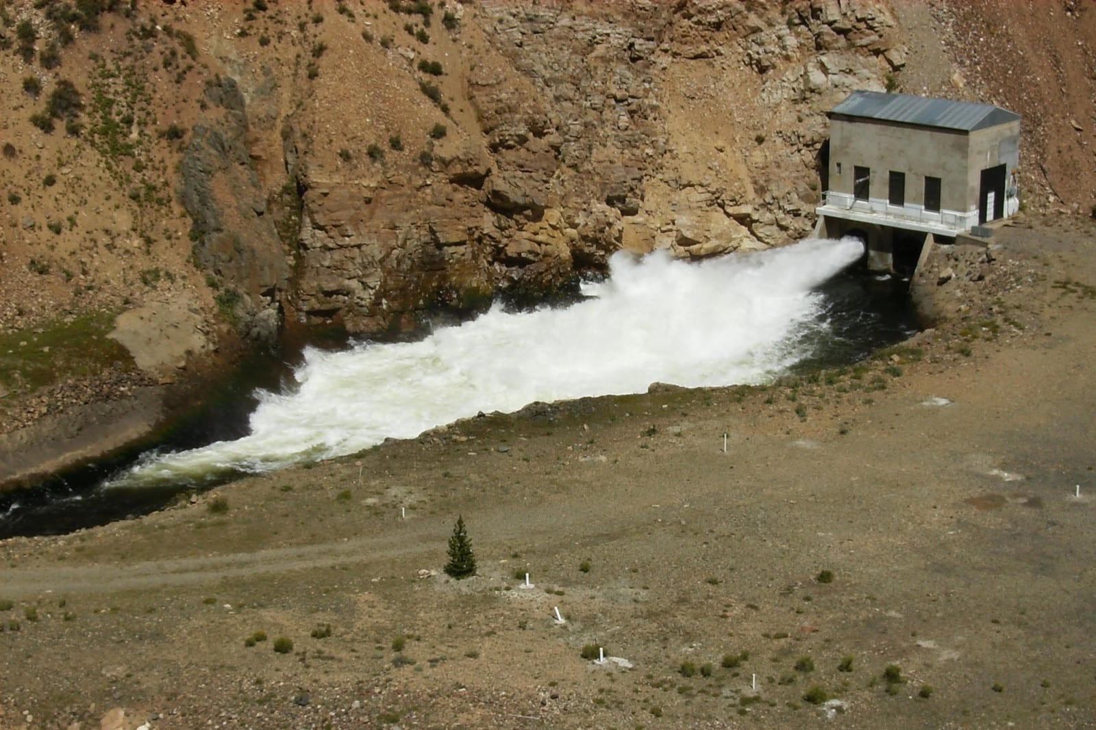 Taylor Park Dam Taylor River