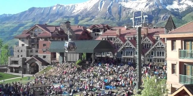 Telluride Bluegrass Festival Colorado