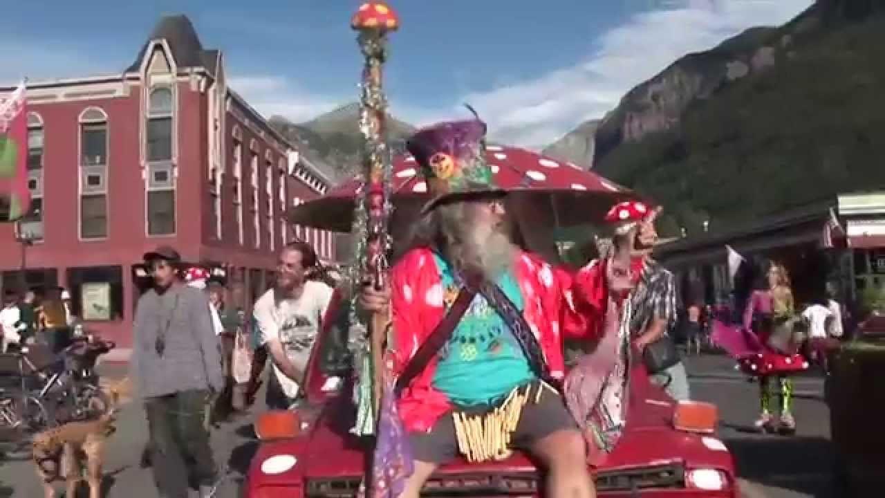 Telluride Mushroom Festival Parade